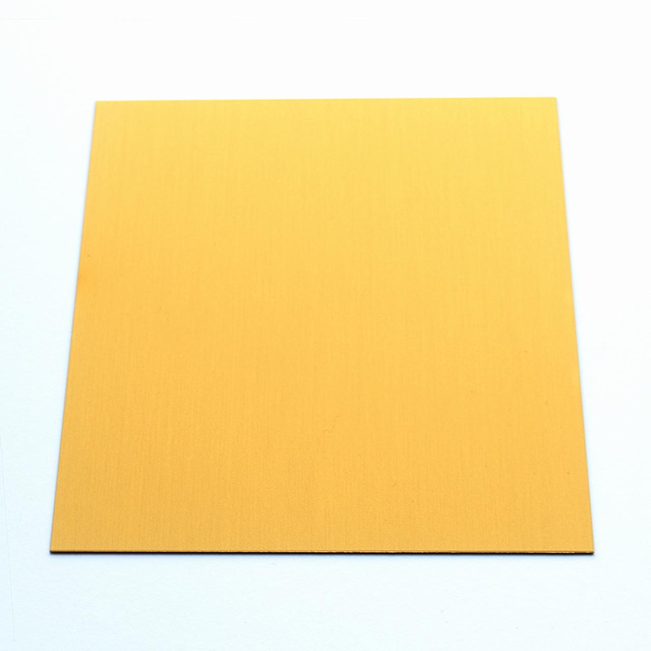 Anodised Aluminium Sheet, Gold