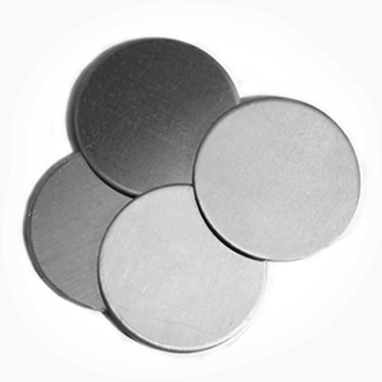 Aluminium Disc, 50.8mm - Pack of 10 (658-AL)