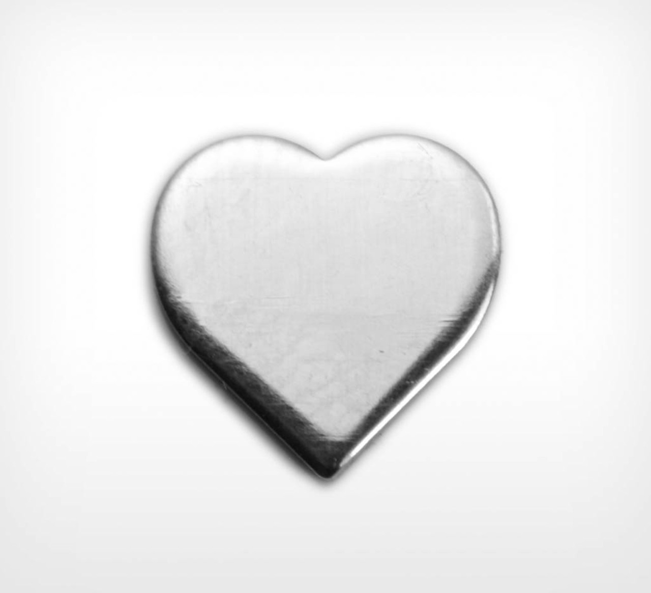 Aluminium Heart, v/small - Pack of 10 (789-AL)