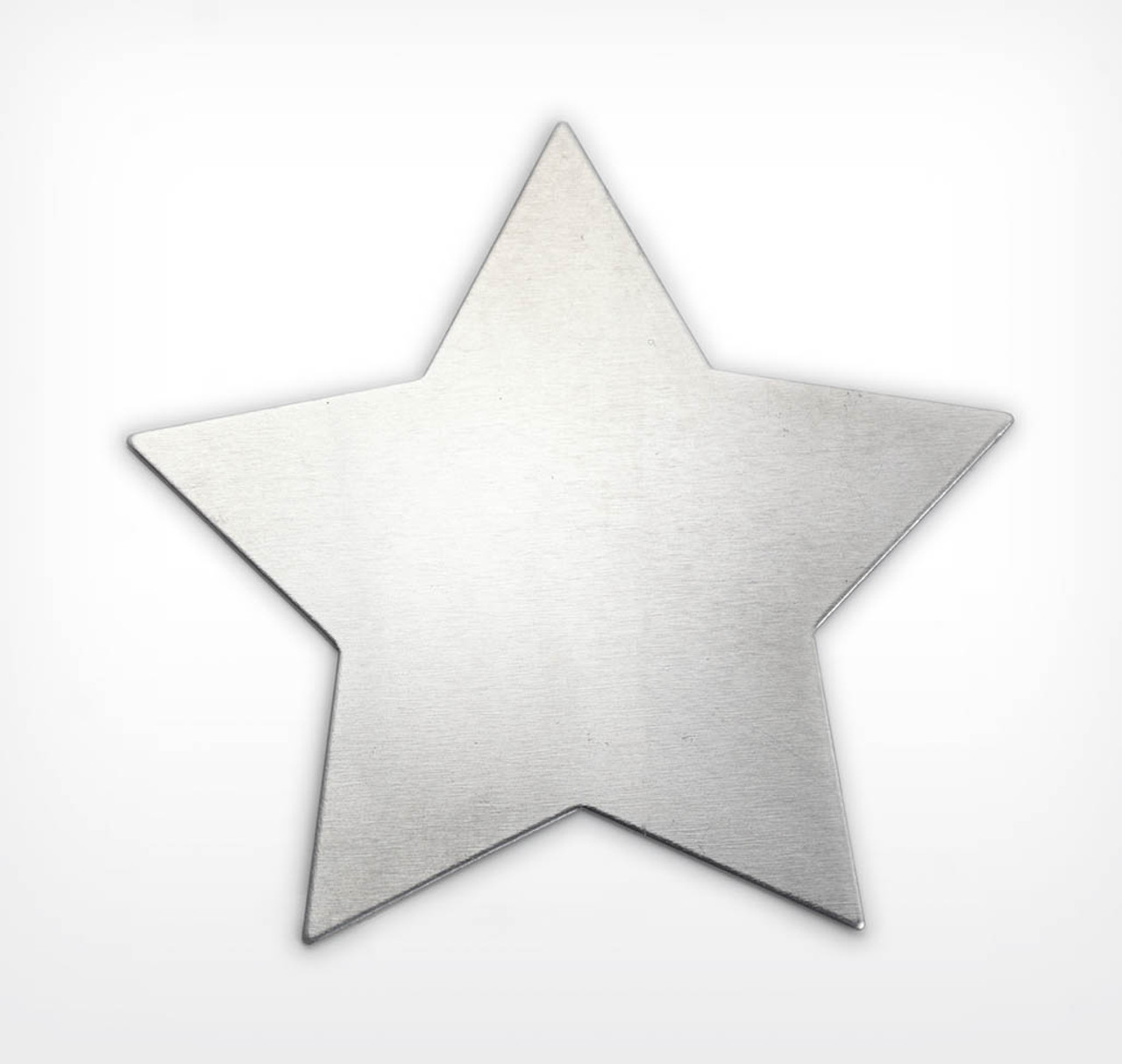 Aluminium Star, large 5 pointed- Pack of 2 (955-AL)