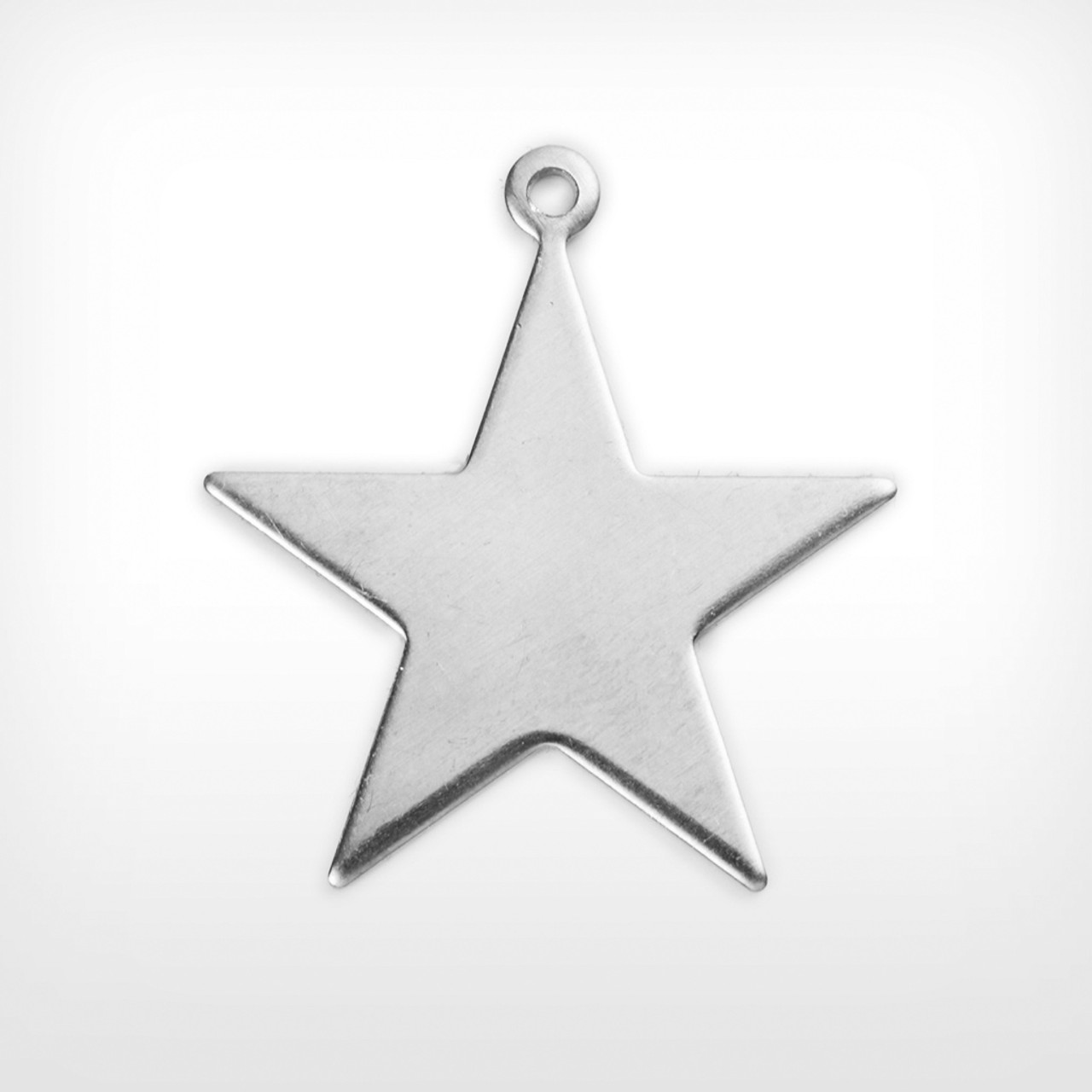 Aluminium Blank Stamped Star for Jewelry Metalwork and & Other Crafts