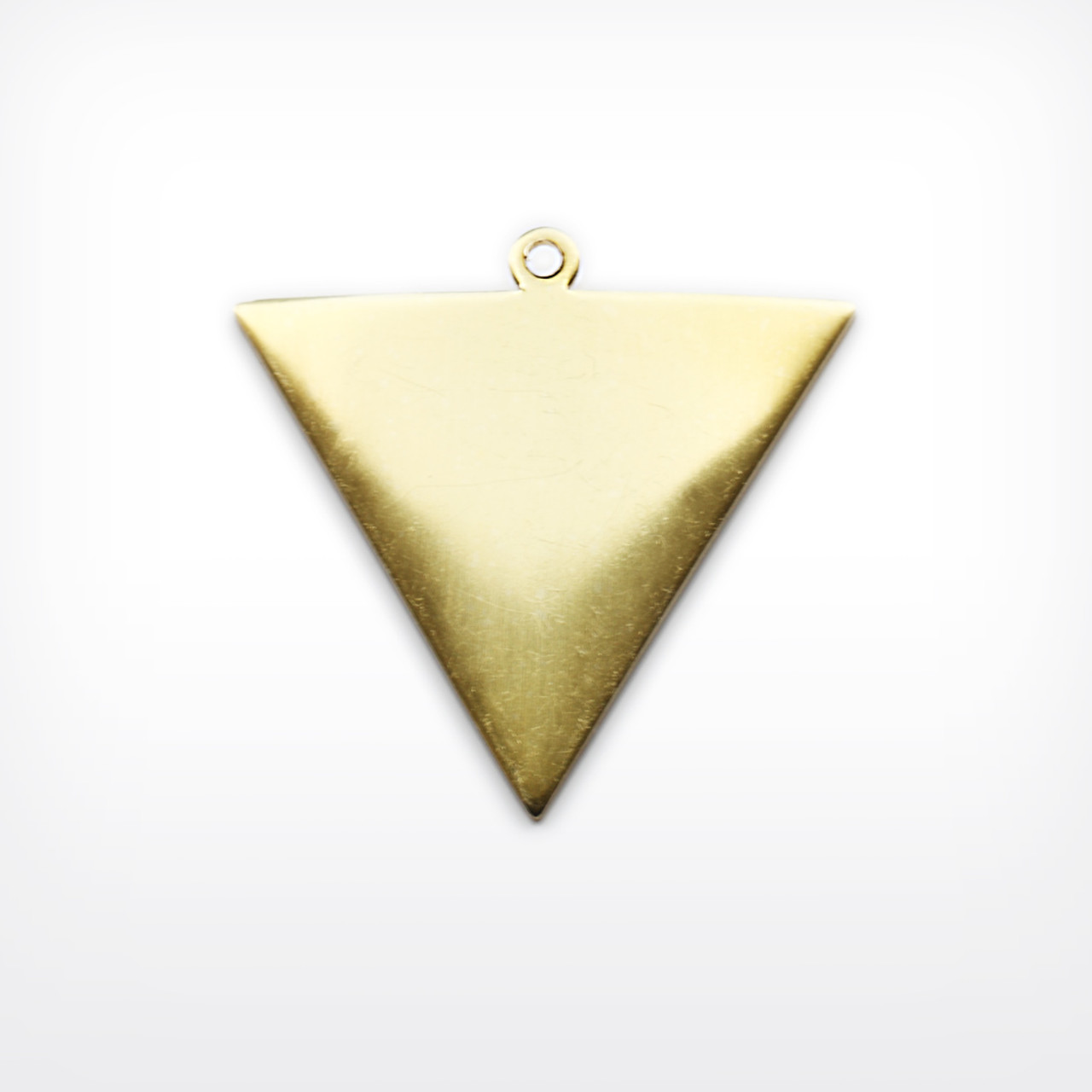 Brass Drop, reversed triangle- Pack of 10 (709-BR)