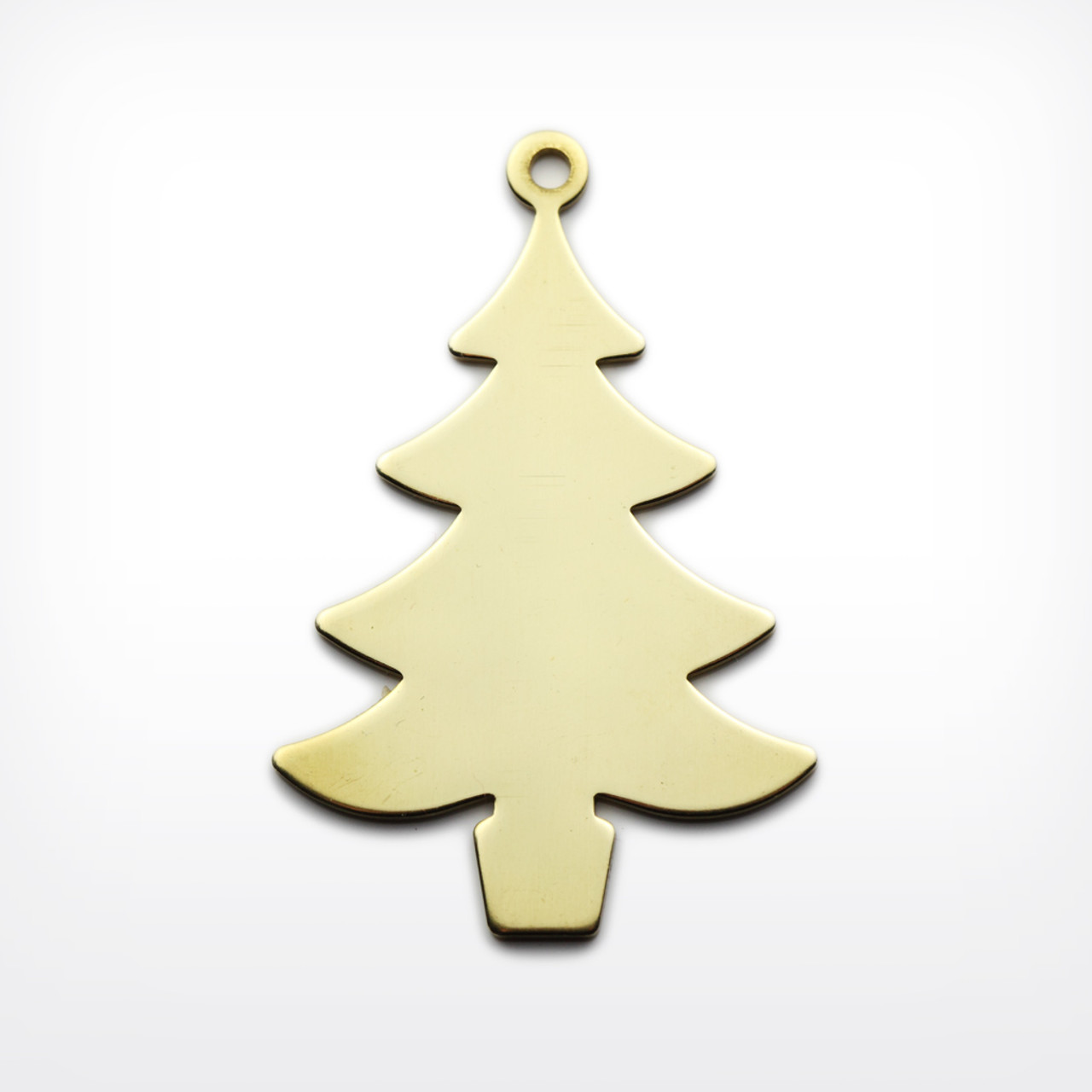 Brass Christmas Tree, with lug - Pack of 10 (441-BR)