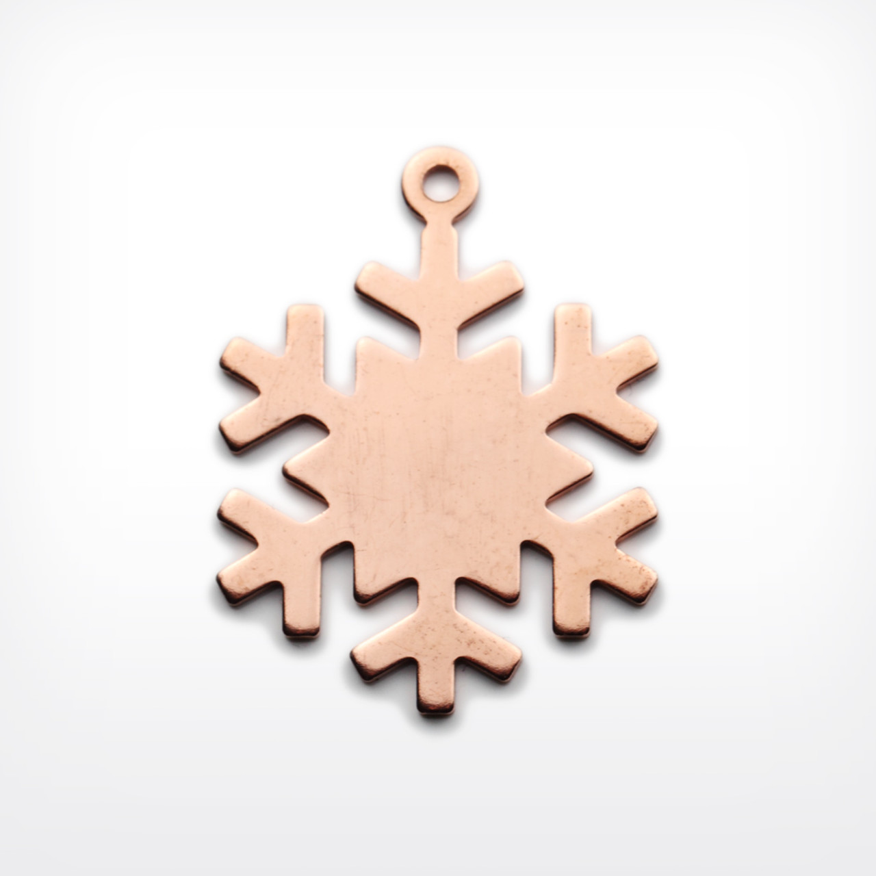 Copper Snowflake, with lug - Pack of 10 (442-CU)