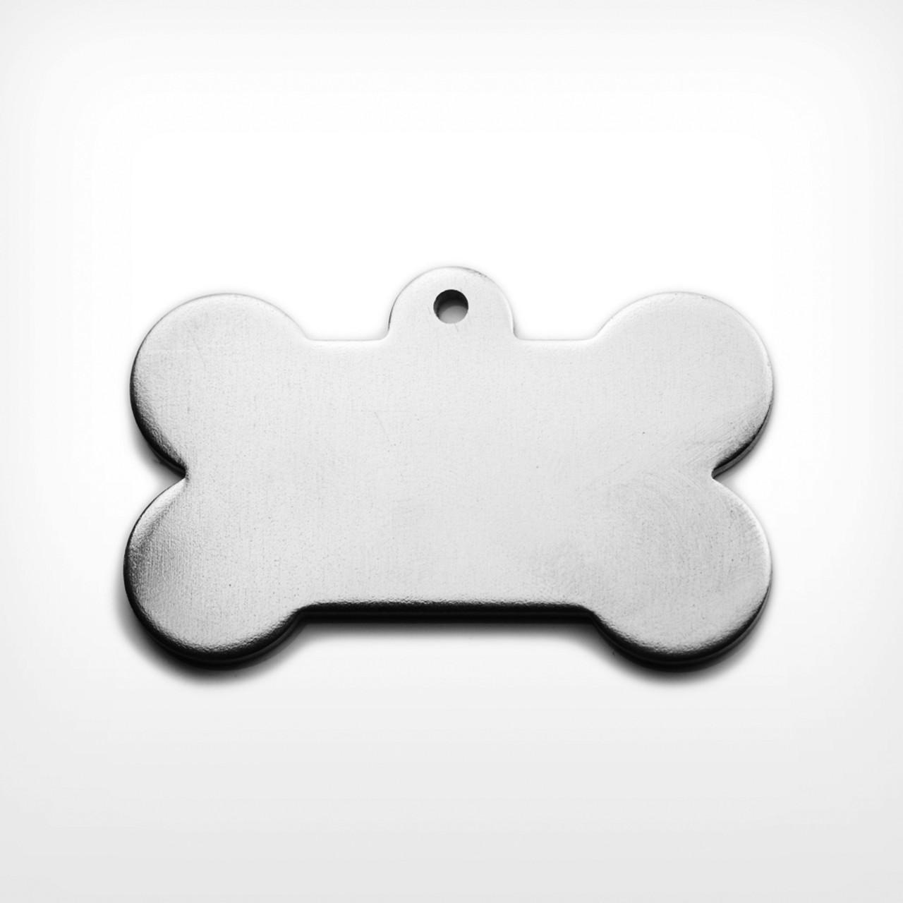 Aluminium Dog Bone, heavy gauge - Pack of 10 (490-AL)