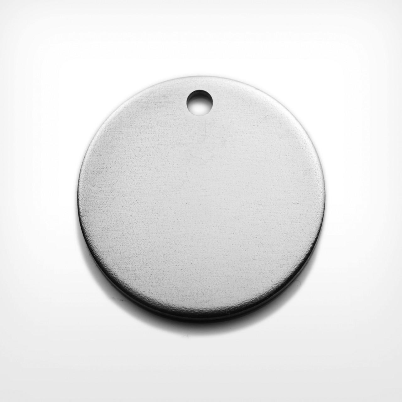 Aluminium Disc, 29mm, heavy gauge - Pack of 10 (637-AL)