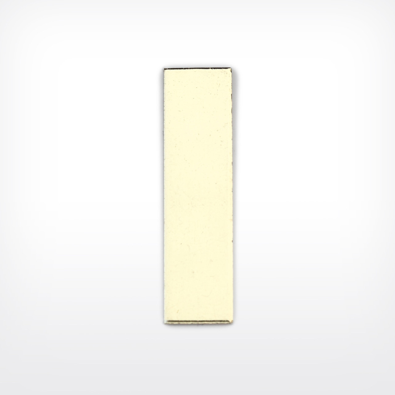 Brass Rectangle, 30x8mm - Pack of 10 (607-BR)