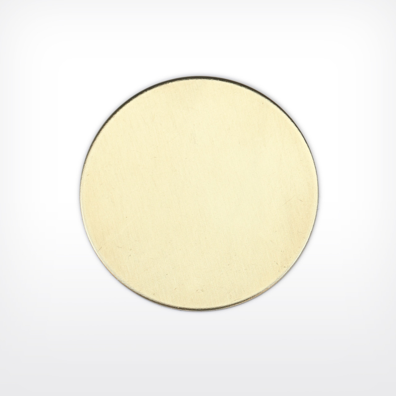 Brass Disc, 44.5mm  (1 3/4 inch)- Pack of 10 (657-BR)