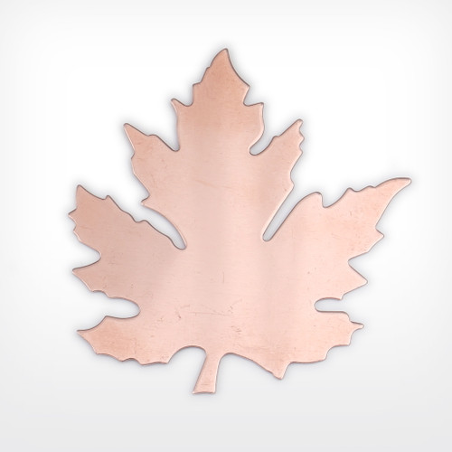 Copper Blank Leaf Stamped Shape for Enamelling & Other Crafts