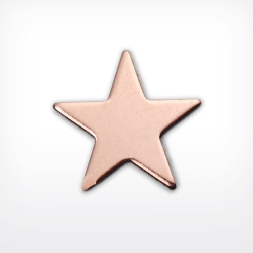 Copper Star, small 5 point - Pack of 10 (857-CU)