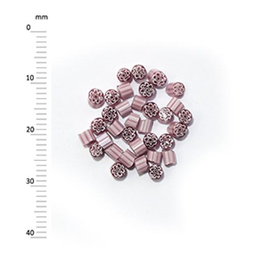 Millefiori - 50g pack (M069), mauve, 2-3mm