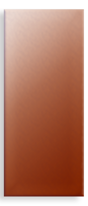 Copper Rectangle,  35x15mm - Pack of 10 (556-CU)