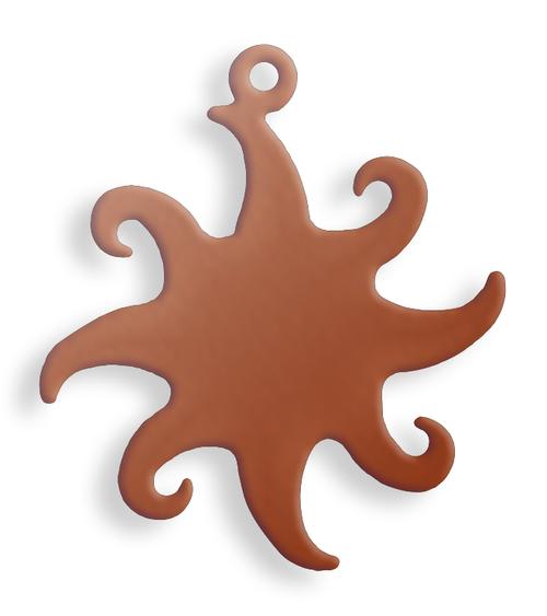 Copper Sun, with lug - Pack of 10 (626-CU)