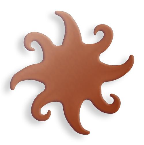 Copper Sun, 8 ray - Pack of 10 (627-CU)