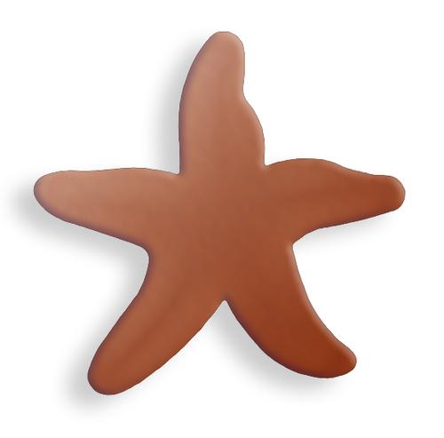 Copper Starfish, small - Pack of 10 (629-CU)