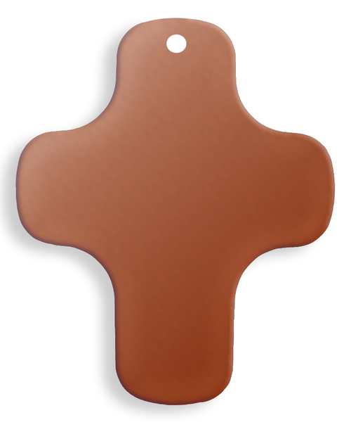 Copper Cross, plain - Pack of 10 (582-CU)