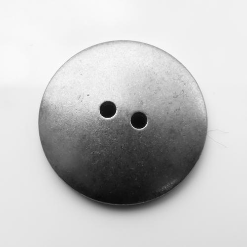 Aluminium Button, 15mm domed- Pack of 10 (251-AL)