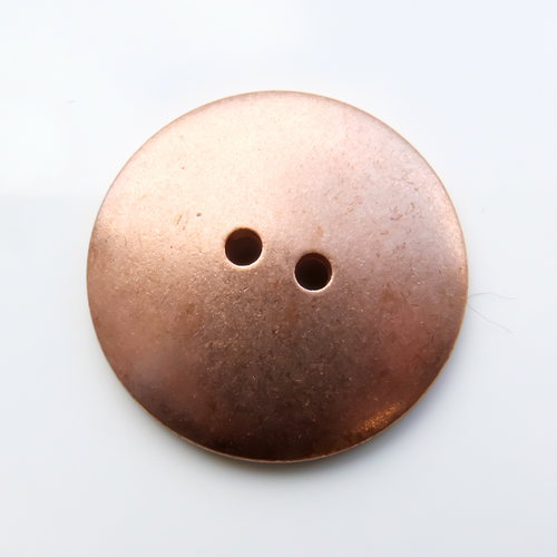 Copper Button, 22mm domed- Pack of 10 (250-CU)
