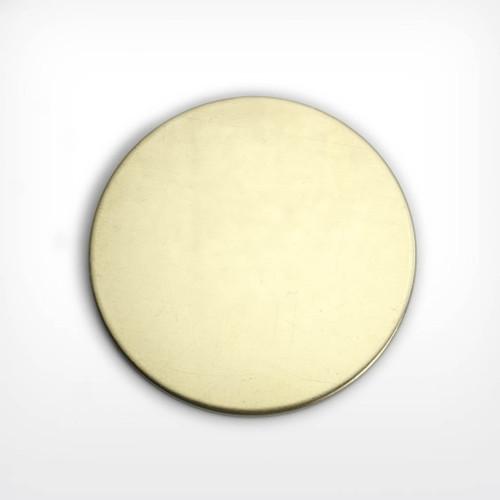 Brass Blank Disc Stamped Shape for Enamelling & Other Crafts