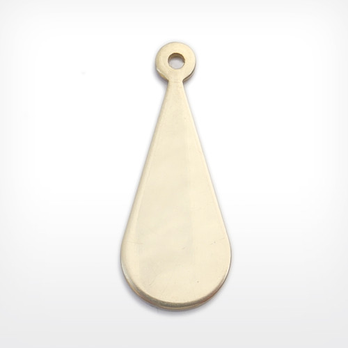 Brass Blank Drop Stamped Shape for Crafts