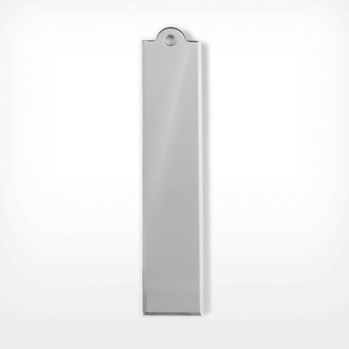 Aluminium oval tag for jewellery crafts