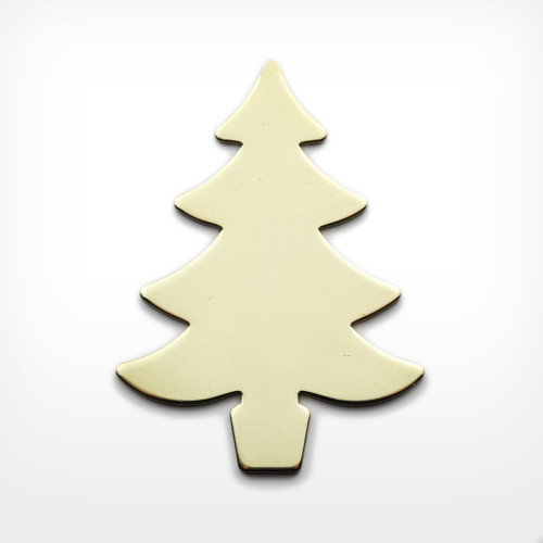 Brass Christmas Tree - Pack of 10 (444-BR)