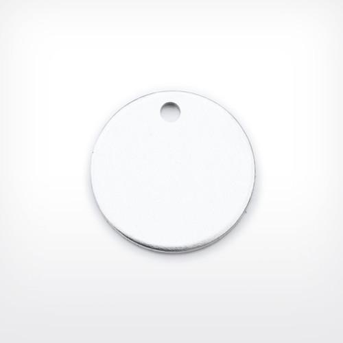 Aluminium Disc, 25.4mm (1 inch), heavy gauge - Pack of 10 (654-AL)