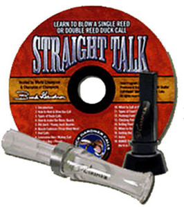 Buck Gardner Mallard Magic & Whistle Duck Call SYSTEM