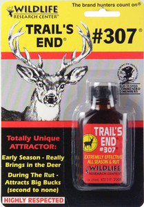 Wildlife Research Trail's End #307 Deer Scent w/ Wicks
