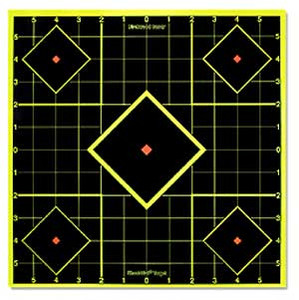 "8"" Shoot N C Targets - Birchwood Casey SI-6 Pack - 34105"