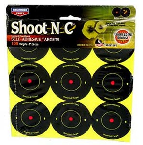 "2"" Shoot N C Targets - Birchwood Casey AR5-12 Pack - 34210"