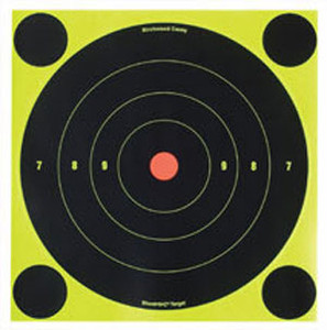 "6"" Shoot N C Targets - Birchwood Casey B16 12 Pack - 34512"