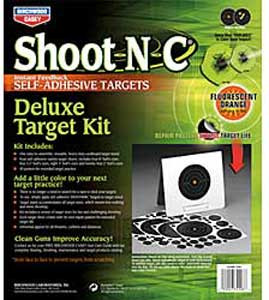 Deluxe Target Kit Shoot N C - Birchwood Casey DTK - 34208