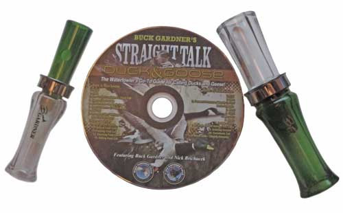 Buck Gardner Magic Talk Duck and Goose Call Kit