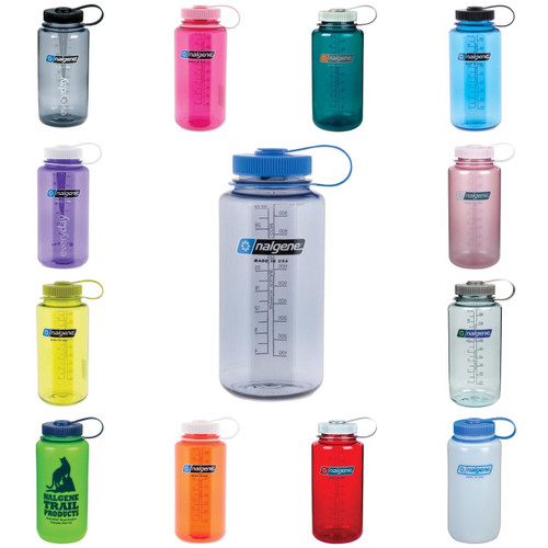 Nalgene 32 oz Wide Mouth Water Bottle