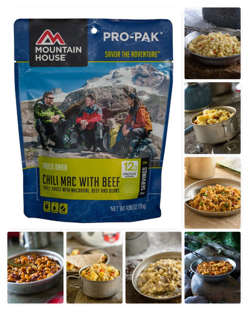 Mountain House Pro Pack Freeze Dried Food Pouches