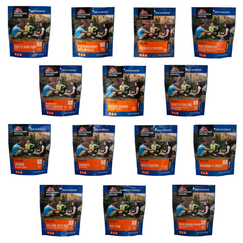 Mountain House Freeze Dried Food Entree Pouches
