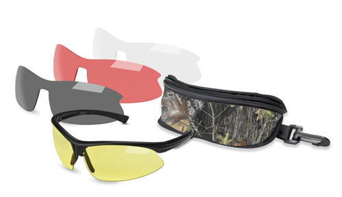 Mossy Oak Belzoni Hunting Shooting/Safety Glasses Kit