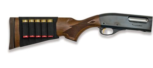 Mossy Oak Black 5 Shell Buttstock Shotgun Shell Holder