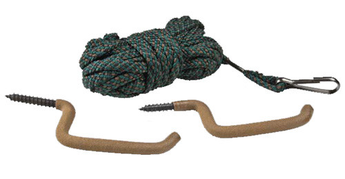 Mossy Oak Tree Stand Hunting Utility Rope w/Hooks