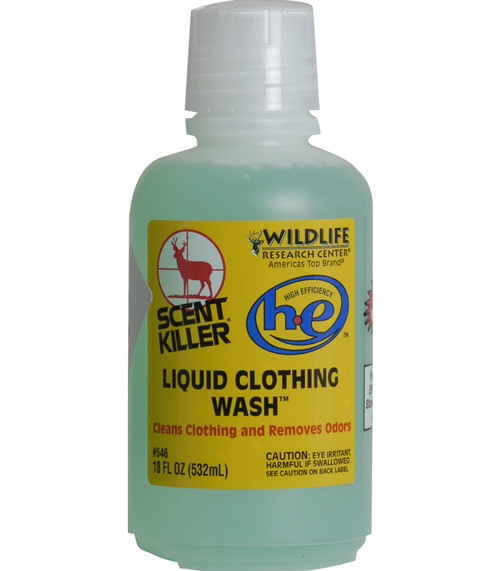 Wildlife Research Scent Killer HE Liquid Clothing Wash