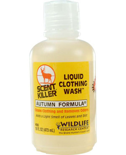 WR Autumn Formula Scent Killer HE Liquid Clothing Wash