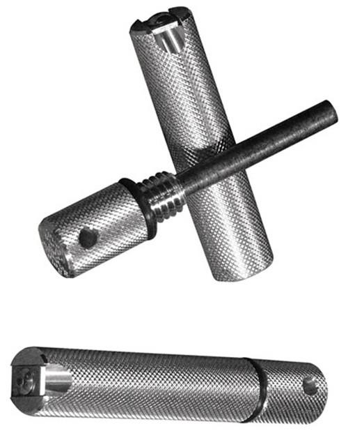 Aurora Silver 440C Fire Starter with Magnesium