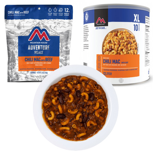 Mountain House Chili Mac Freeze Dried Food