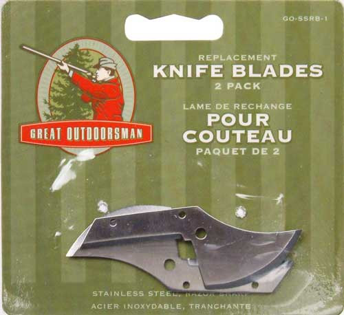 Great Outdoorsman Field Dressing Knife Replacement Blades
