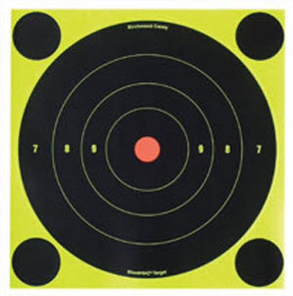 """6"""" Shoot N C Targets - Birchwood Casey B16 12 Pack - 34512"""