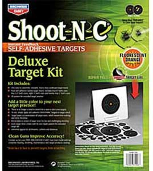 Deluxe Target Kit Shoot N C - Birchwood Casey DTK - 34208