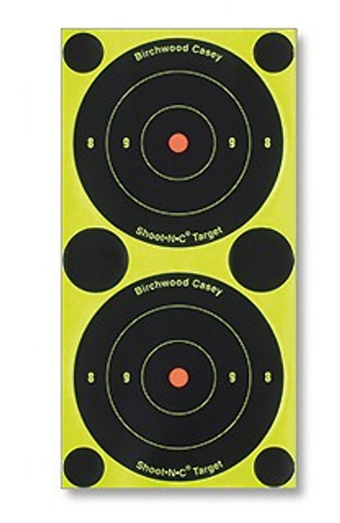 "Birchwood Casey 3"" Shoot-N-C Adhesive Shooting Targets"