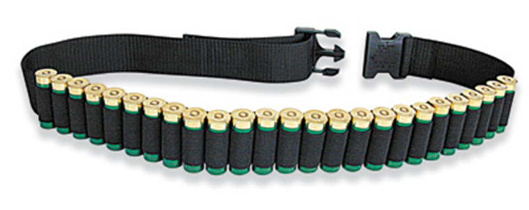 Mossy Oak 25 Shell Black Shotgun Shell Ammo Belt