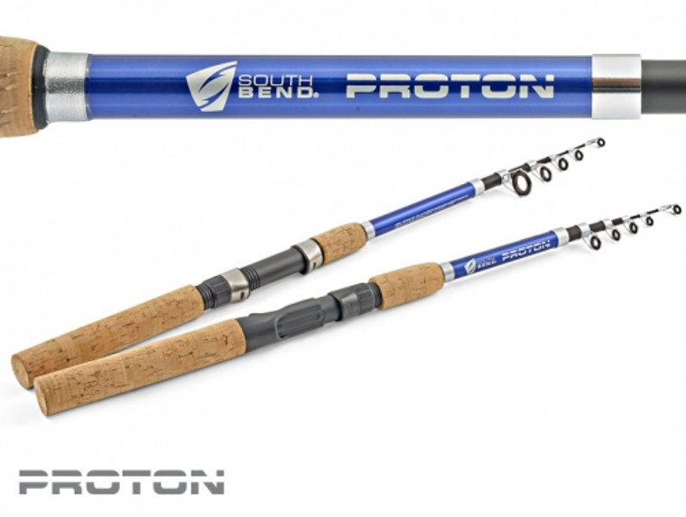 South Bend Proton 6' Telescopic Spinning Fishing Rod